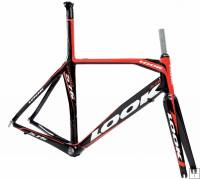 Look 576 Frame TT/Tri Red/Black 2009