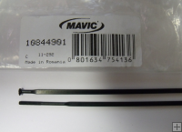 Mavic Aksium 2010 Front/Rear NDS Spoke 282mm Black 10 Pack