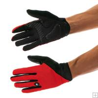 Assos Long Summer Gloves Red
