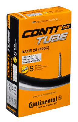 Continental Race 28 Tube 60mm Valve