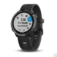 Garmin Forerunner 645 Music Slate With Black Band