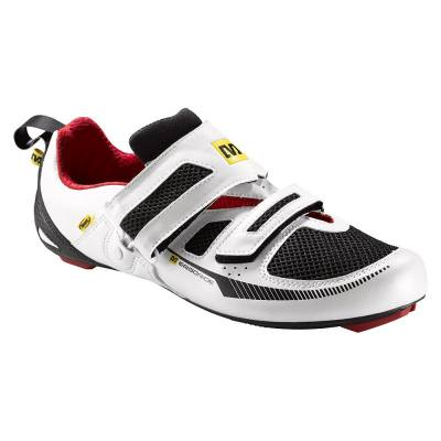 Mavic Tri Race Shoes White Black Quick