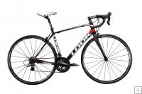 Look 566 Bike Ultegra Compact Black/White/Red