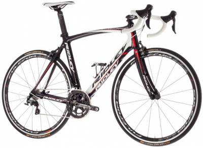 Ridley Noah RS Ultegra 11-Sp 1304B Bike Black White Red
