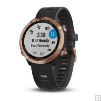 Garmin Forerunner 645 Music Rose Gold Black Band