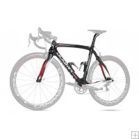 Pinarello Dogma 65.1 Frameset Naked Red White Shiny 860