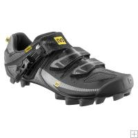 Mavic Razor MTB Shoes Black/ Asphalt/ Silver 2012