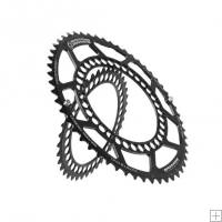 Rotor Road Q Chainrings Compact BCD 110 Pair 5 Bolt