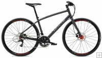 Whyte Stirling Bike - Matt Granite with Grey/Orange - 2016