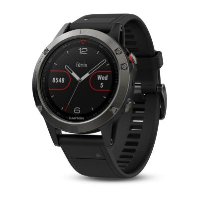 Garmin Fenix 5 Slate Gray With Black Band 47mm