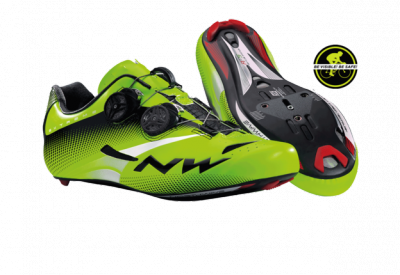 Northwave Extreme Tech Plus Shoes Fluo Green 2015