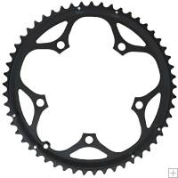 Shimano 105 Chainring Double B Type 52T Black