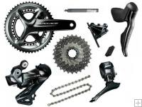 Shimano Dura Ace DI2 9170 Hydraulic Disc Groupset