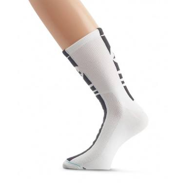 Assos Mille Summer Socks White High