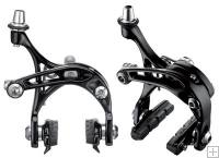 Campagnolo Skeleton Dual Pivot Calipers Black BR15-BDP