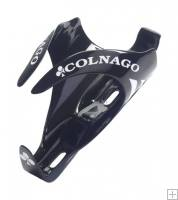 Colnago Carbon Gloss Black/White Bottle Cage