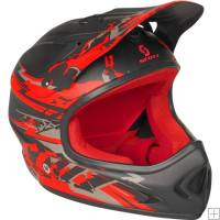 Scott Spartan ABS Helmet Black/ Red