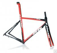 Look 586 Origin Pro Frameset Red Black Size 53