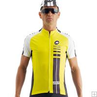 Assos Mille Short Sleeve Jersey Yellow Volt