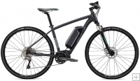 Whyte Coniston e-Bike - Matt Granite with Grey/Apple - 2016