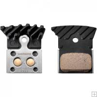 Shimano Ultegra L04C Disc Brake Pads With Fins