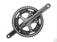 Shimano 5600L 105 Crankset 165 mm 52 / 39T Black