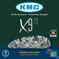 KMC X9-73 Grey Chain 116 Links