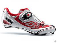 DMT Prisma (White/Red) Racing Shoes