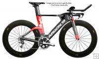 Argon 18 E119 Tri Ultegra DI2 Bike with Cosmic Carbone 80 Wheels