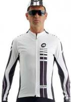 Assos Mille L.S Jersey White Panther