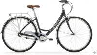 Ridgeback Avenida 3 Open Frame Bike Black 2015