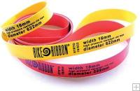 Bike Ribbon Rim Tape Red 700c Pair