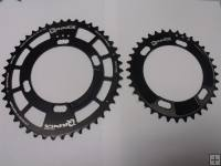 Rotor Q Cyclocross Chainrings 110 BCD 4 Bolt Pair