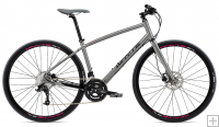 Whyte Pimlico Bike - Matt Zinc with Black/Magenta - 2016