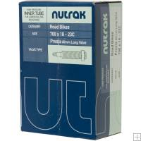 Nutrak 700 x 18 - 23C Presta 60 mm long valve inner tube