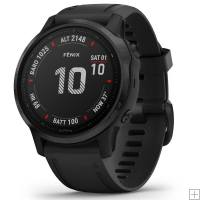 Garmin Fenix 6S Pro Black GPS Watch With Black Band
