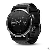 Garmin Fenix 5S Silver With Black Band 42mm