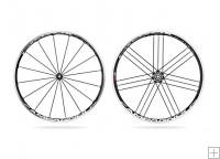 Campagnolo Shamal Ultra 2 Way Black Wheels Campagnolo