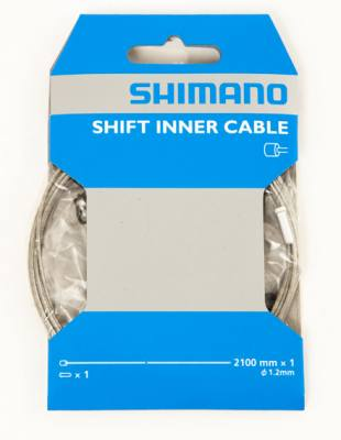 Shimano Road/Mtb Steel Inner Gear Cable 1.2 x 2100
