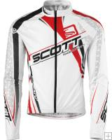 Scott RC Pro Long Sleeve Jersey White Red 2010