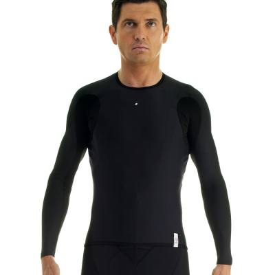 Assos Fall InterActive Long Sleeve Base Layer Black