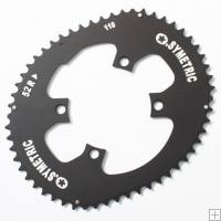 Osymetric Outer Chainring For Shimano / Sram 4 Bolt