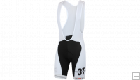 3T Pro Team Bibshort Team Black White