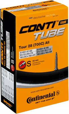 Continental Tour 28 tube 700 x 32 - 47C 60mm Presta long valve I