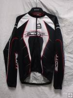 Scott RC Pro Longsleeve Jersey (Black / Chinese Red) 2009