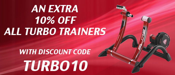 Extra 10% Off ALL Turbo Trainers