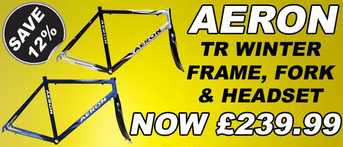 Aeron TR Blue Winter Frame Fork & Headset