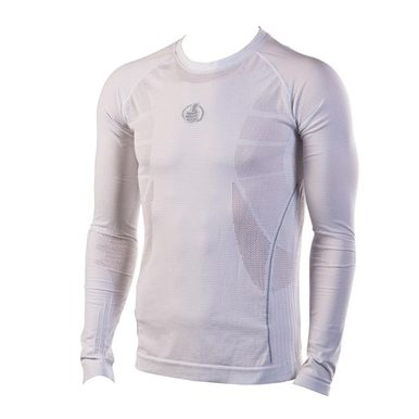 Carbon Energized long sleeve baselayer White Size Small - Medium
