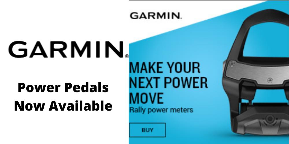Garmin Rally Pedals
