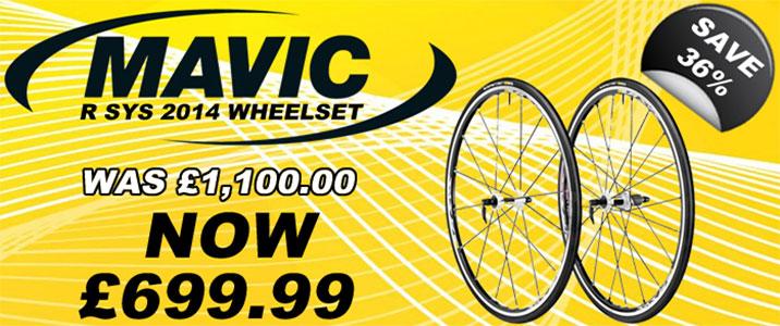 Mavic R Sys Wheelset 2014